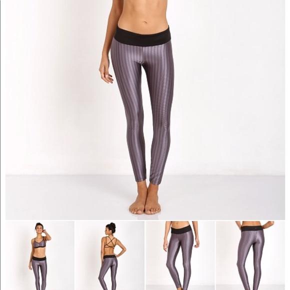 ce7ef6f82e1fe Koral Pants | Plum Black Workout Legging Sz S Euc | Poshmark